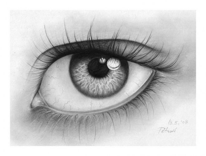 Marihuana Dibujo a Lapiz Dibujos de Ojos a Lapiz