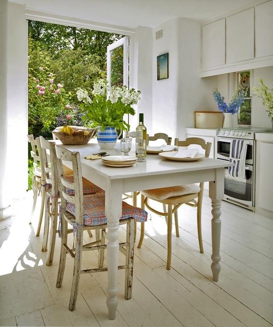 Una cocina abierta al jardin open kitchen desde my for Cocinas abiertas al jardin