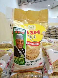 Atiku Abubakar denies distributing bags of rice ahead of 2019 election
