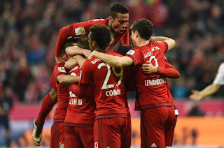 Bayern Kalahkan Ingolstadt 2-0
