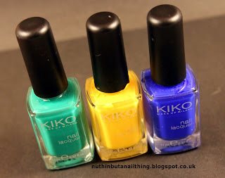 Kiko Polishes