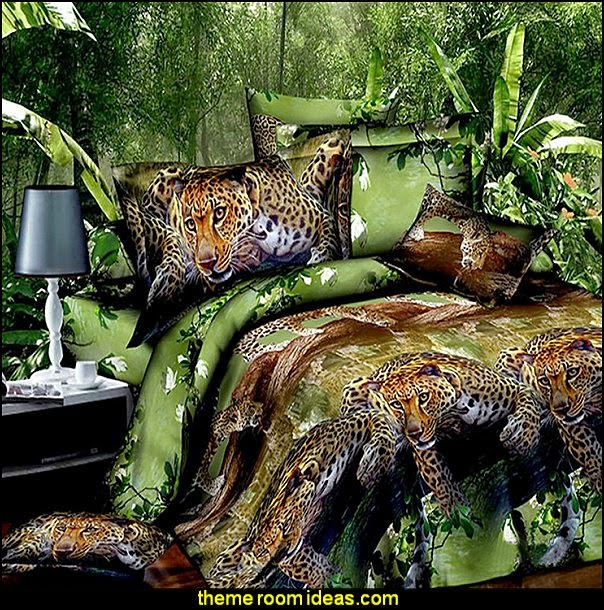 Decorating theme bedrooms maries manor leopard print for Animal decoration