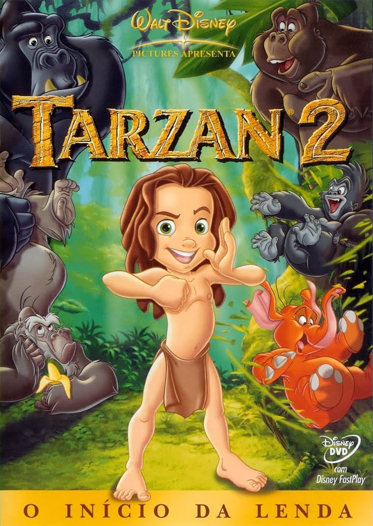 Tarzan 2 – Dublado (2005)