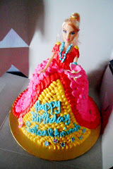 PRINCESS CAKE~ BARBIE DOLL
