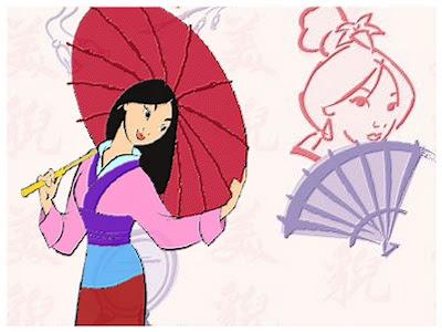 Dersoin Cartoon Free Disney Princess Mulan Desktop Wallpaper