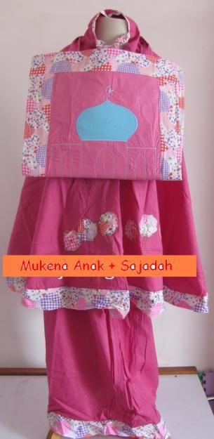 Mukena Anak + Tas Sajadah