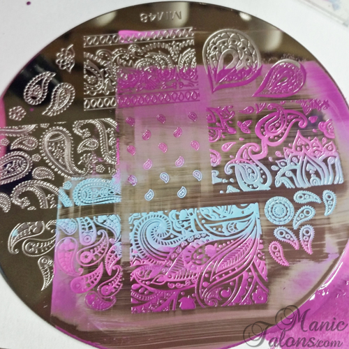 Beautiful Stamping Mess on Messy Mansion MM48