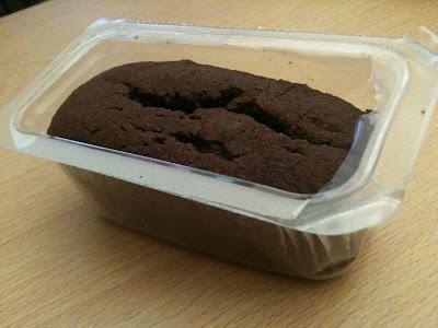 tesco free from chocolate cake bar
