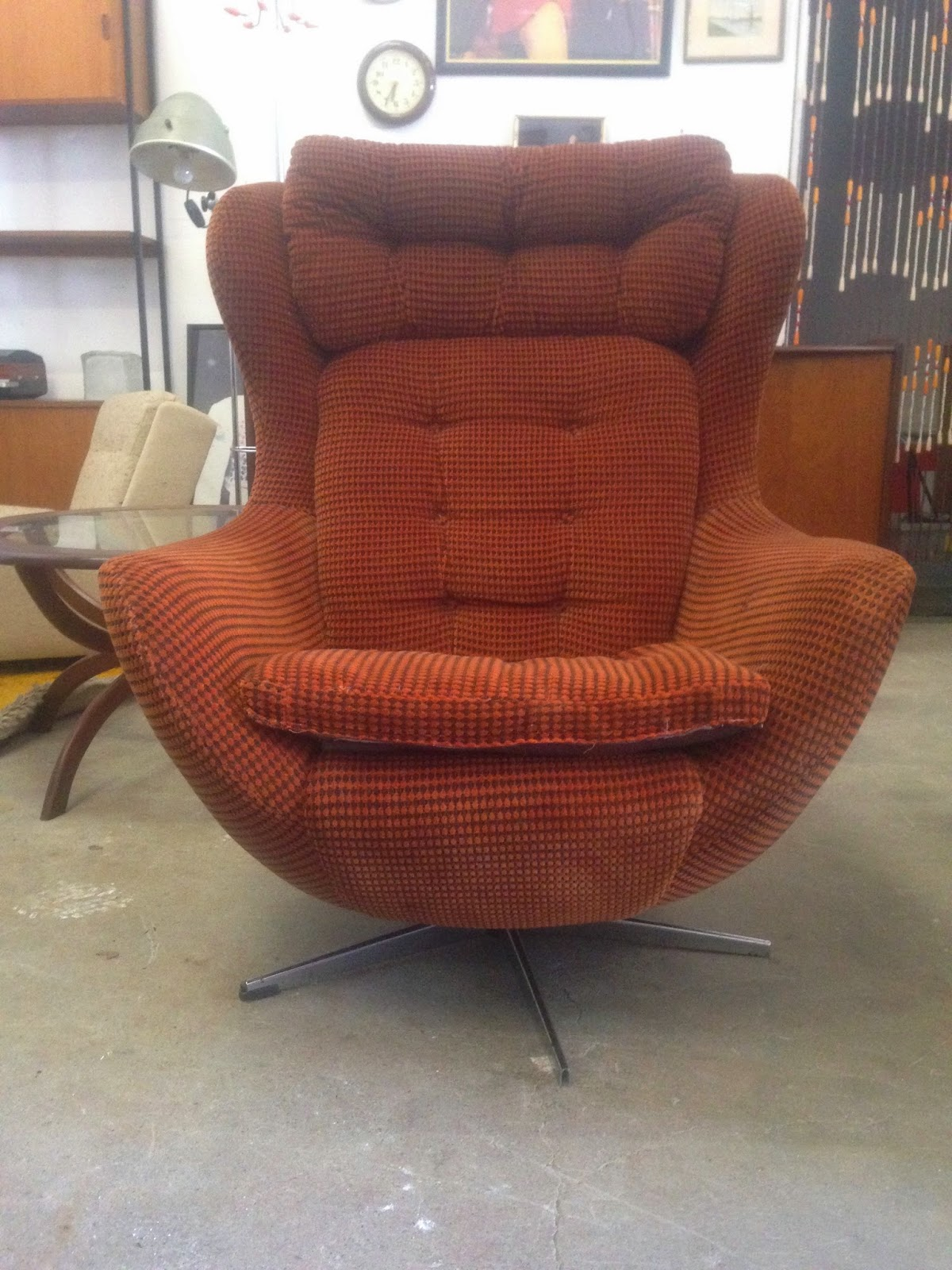 Merveilleux OCD   Vintage Furniture Ireland: Vintage Vono Egg Chair   Original  Compulsive Design