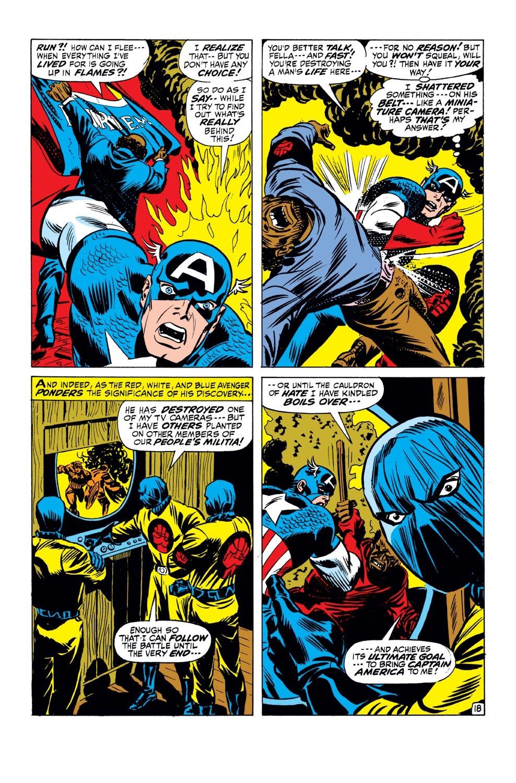 Captain America (1968) Issue #143 #57 - English 19