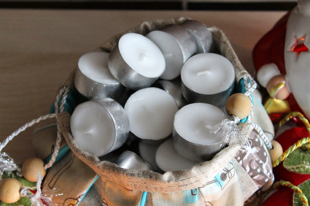 сумочка для хранения конфет и свечей