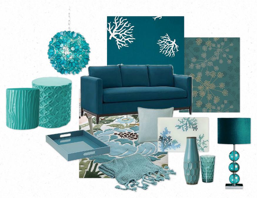 Decoraci n en turquesa ideas para decorar dise ar y for Decoracion en tonos turquesa