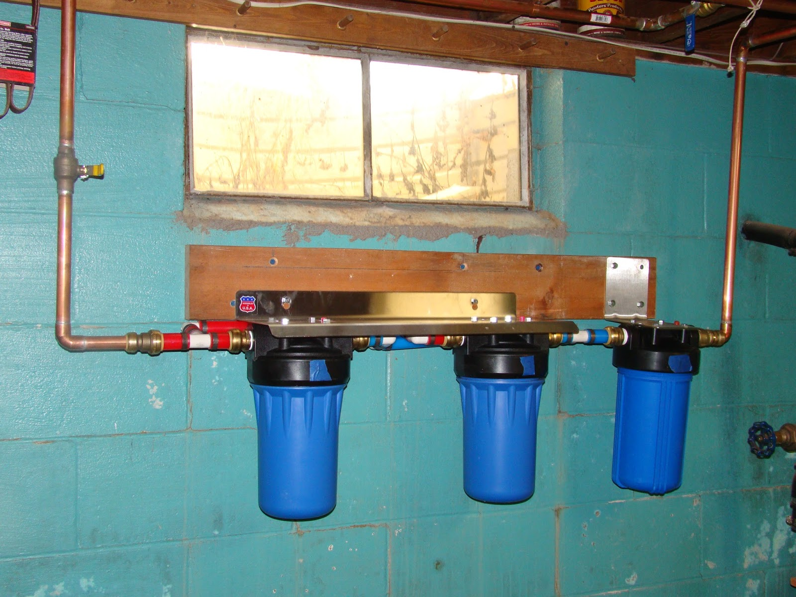 Water Filtration System ~ No More Bathing In Water With Chlorine And #1964B2
