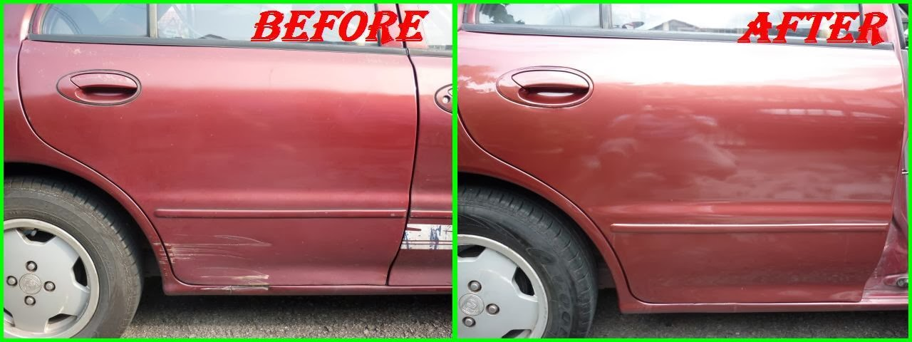 how to cut and polish a car after painting