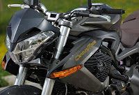 Benelli TNT899 Century Racer (2011) Front Side Detail