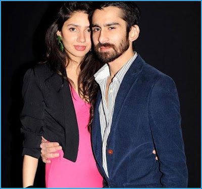 Mahira Khan with man