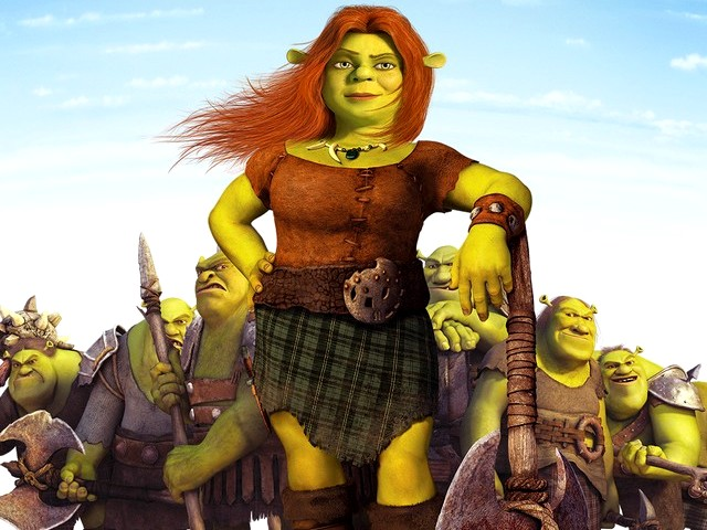 Slow poke movie review shrek forever after the final - Princesse fiona ...