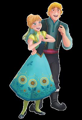 Anna con Olaf