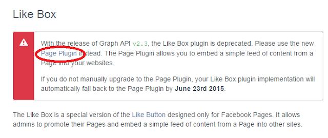 poner cajon de me gusta de facebook