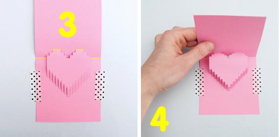 Как сделать в 3d открытку