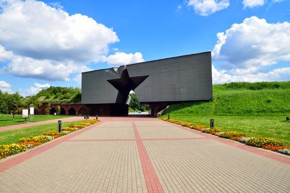 Brest Fortress in Brest - Belarus