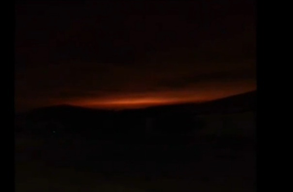 http://silentobserver68.blogspot.com/2012/12/video-mysterious-glow-is-comingwhat-is.html