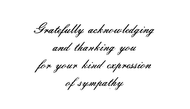 thank you note from freda fox