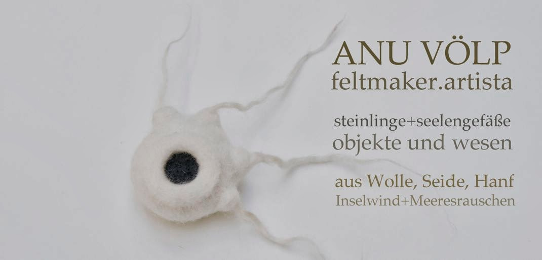 Anu Völp   felt sculptures