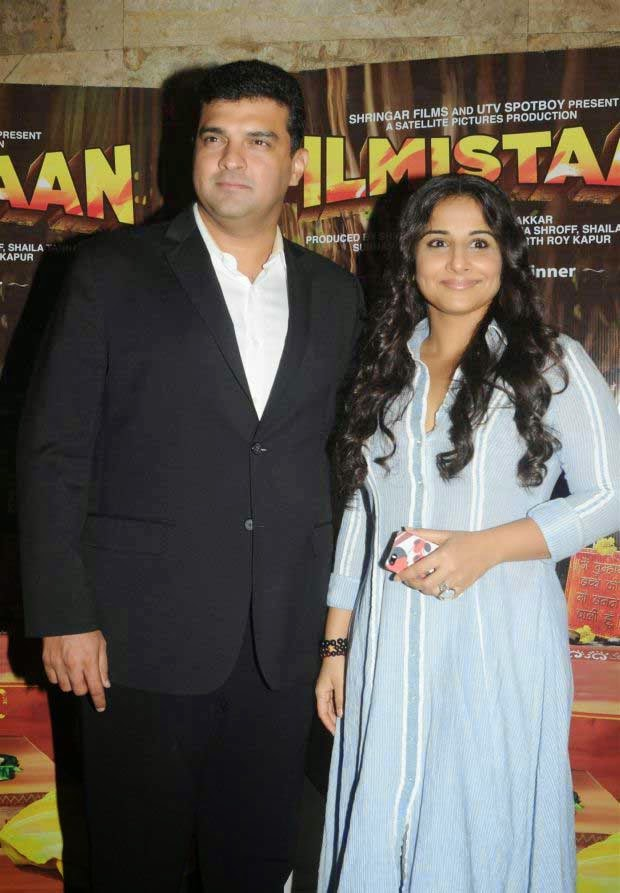 Vidya Balan at Special Screening of Movie Filmistaan