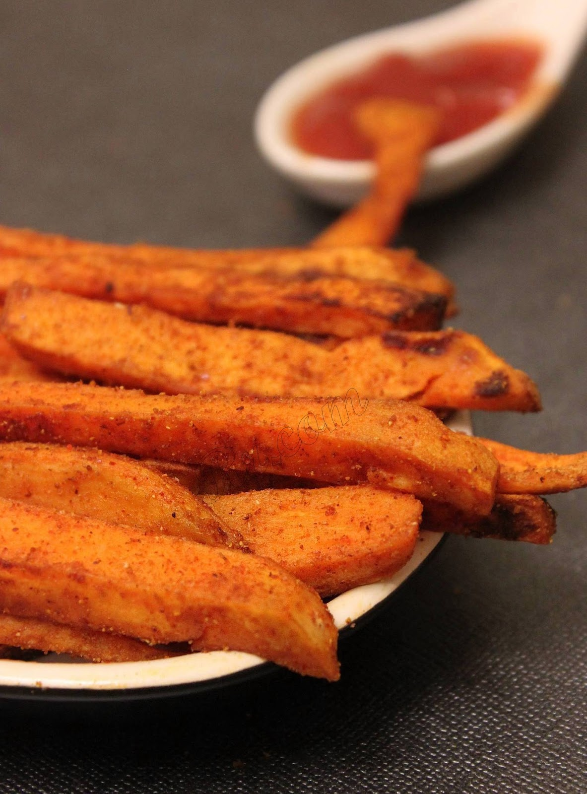 Sweet Potato Fries | Oven Baked Sweet Potato Fries ~ Sankeerthanam ...