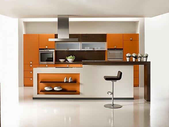 Fotos de cocinas lineales modernas colores en casa for Cocinas pequenas disenos modernos