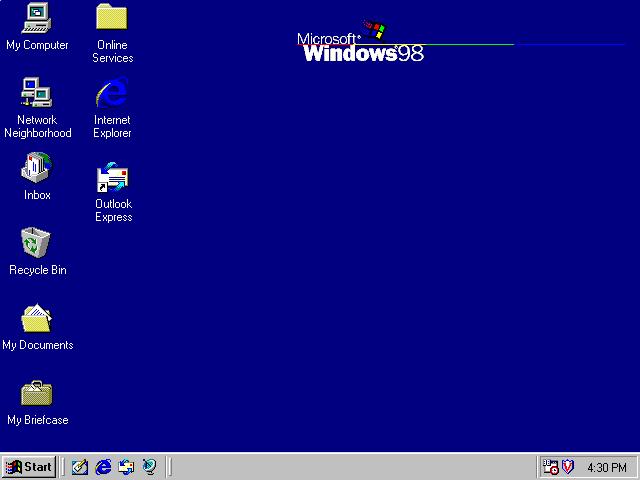 1998  Windows 98