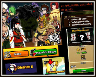 Ninja+Saga+Hack+Halloween+District+5 with Fiddler