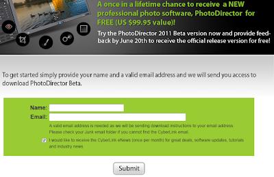 CyberLink PhotoDirector 2011 Beta