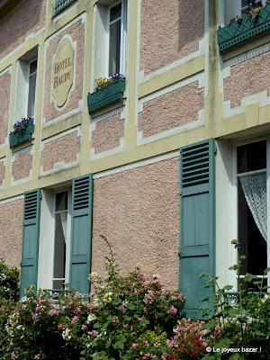 Giverny - sur les pas de Monet - ancien hôtel Baudy