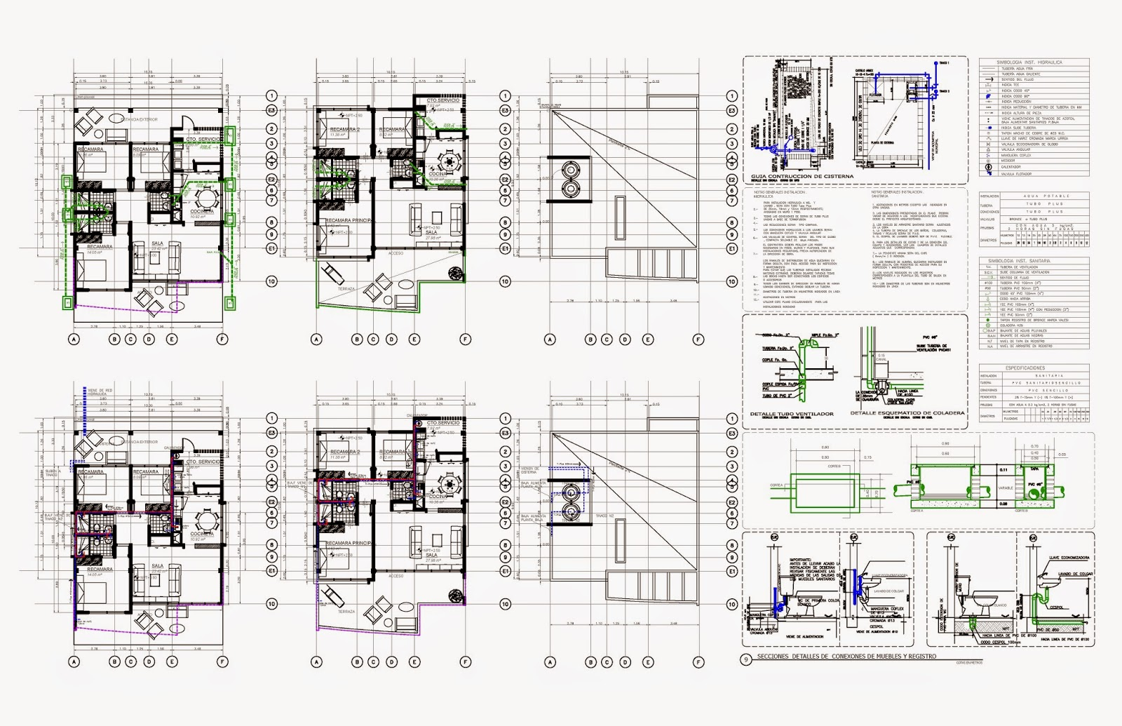 Proyecto ejecutivo cubik arquitectura carlos tapia for Proyecto arquitectonico pdf