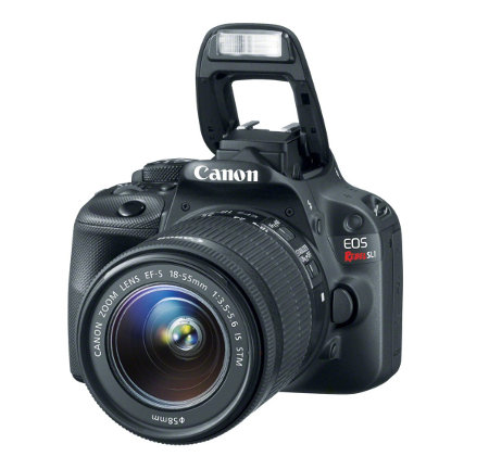 Canon EOS 100D (Rebel SL1) Lens And Flash
