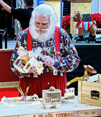 Santa Claus has come to town. Specifically, he's arrived at Woodland Hills Mall, 71st Street and Memorial Drive, where children of all ages are invited to visit him now through Dec. 24 on the.