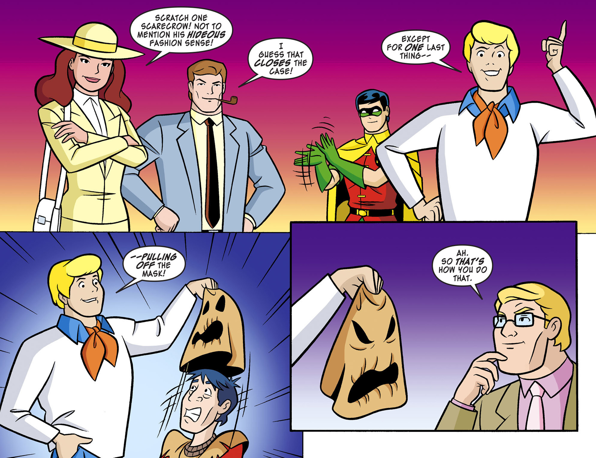 Read online Scooby-Doo! Team-Up comic -  Issue #4 - 20
