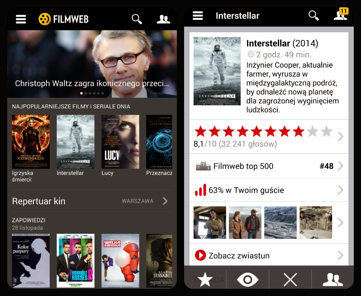 aplikacje na smartfony Android