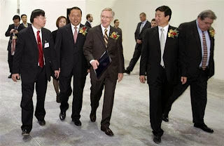 Senator Harry Reid's Chinese Connection and over $3 Billion in Green Energy Corruption