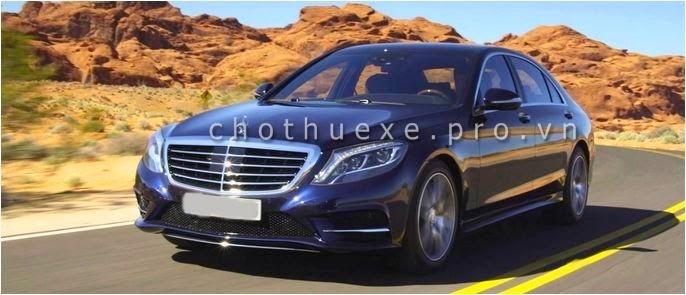 Cho thuê xe cưới VIP Mercedes S500 đời 2014