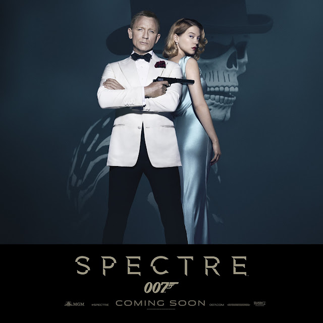 007.com official SPECTRE Standee Artwork