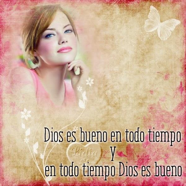 Tarjeta cristiana con mensaje de Dios para la mujer