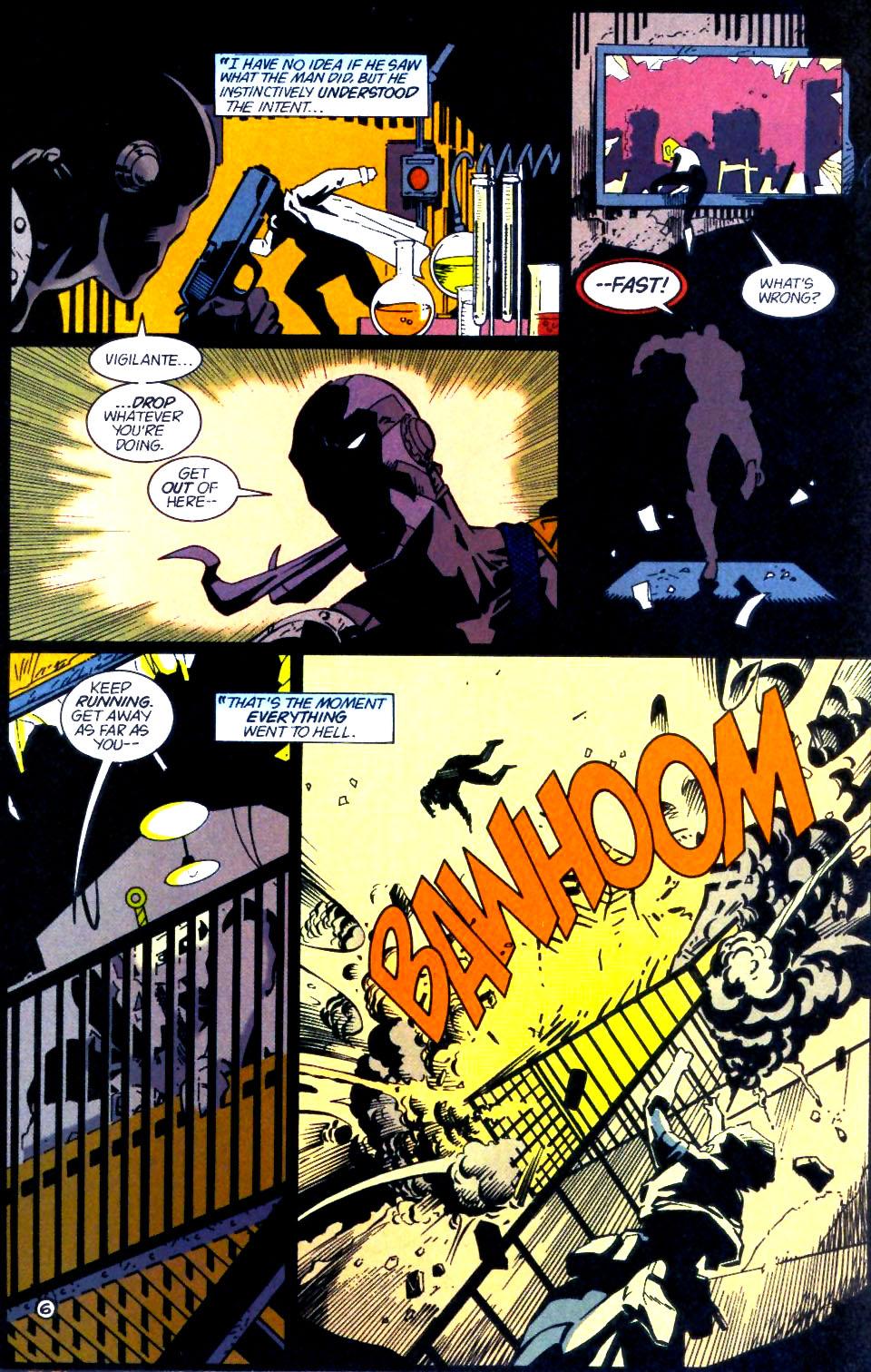 Deathstroke (1991) Issue #60 #65 - English 7