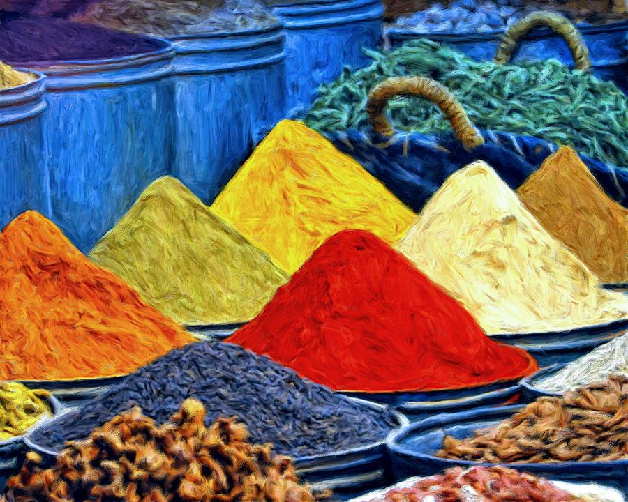 Un t alla menta le spezie nella cucina araba - Le spezie in cucina ...