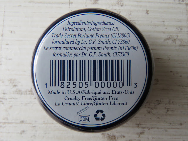 Rosebud Salve Lip Balm - ingredients