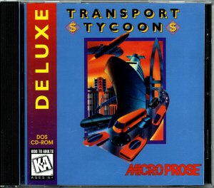 Transport Tycoon Deluxe CD case