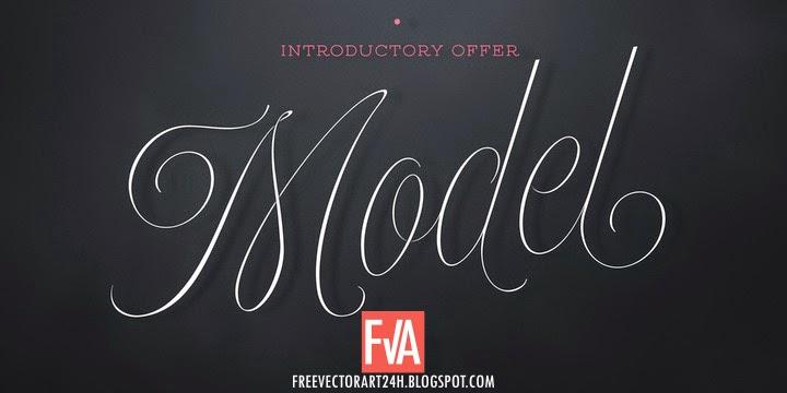 model-font-free