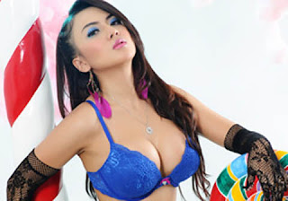 hot Model Popular Anggita Sari Babes From Net Finalist